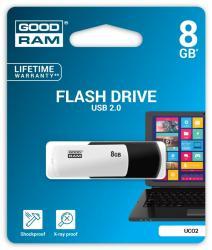 COLOUR BLACK&WHITE 8GB USB2.0
