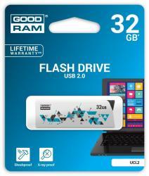 CL!CK 32GB USB2.0 WHITE