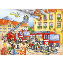 Ravensburger RAVEN. 100 EL. XXL Straż Pożarna