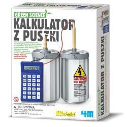4m Green Science kalkulator z puszki