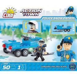 Cobi Klocki COBI Action Town Policja 50 el.