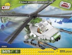Cobi Klocki Armia Atak, helikopter Orzeł
