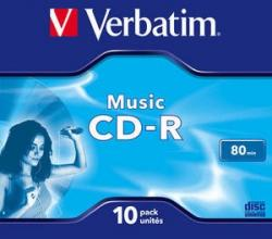 CD-R Audio 80min 10P JC 43365