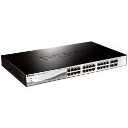 Switch Smart DGS-1210-28MP 24xGE PoE+ 4xSFP