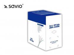 Kabel sieciowy LANSAVIO CLA-06 Kat.6 UTP 305m CU/ miedź