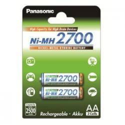 Panasonic AKUMULATORY NI-MH 2ST 2,500 MAH HIGH CAPACITY