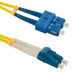 Patchcord światłowodowy SC/UPC-LC/UPC   SM   9/125   G652D   1m