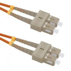 Patchcord światłowodowy SC/UPC-SC/UPC | MM | 50/125 | OM2 | 2m