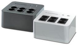 UPS NETYS PL 600VA/360W 230V 50/60HZ Bateria wewnętrzna, USB 6 gniazd( 4+ 2 typu FRENCH )
