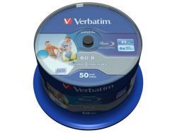 BD-R 6x 25GB 50P CB DataLife Printable 43812