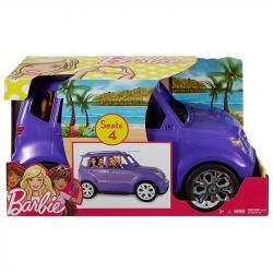 Mattel Auto SUV Barbie fioletowy