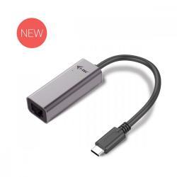 USB C adapter Metal Gigabit Ethernet, 1x USB-C do RJ-45