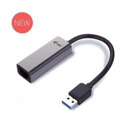 USB 3.0 adapter Metal Gigabit Ethernet, 1x USB 3.0 do RJ45 10/100/1000 Mbps