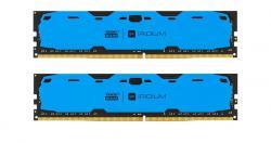 DDR4 IRIDIUM 16GB/2400 (2*8GB)1024*8 Niebieska
