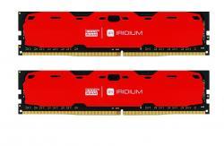 DDR4 IRIDIUM 16GB/2400 (2*8GB)1024*8 Czerwona