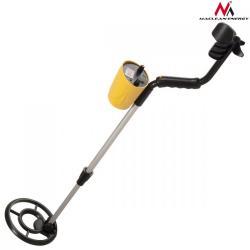 Maclean Wykrywacz metali z dyskryminatorem Energy MCE991- Żółty