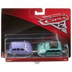 Mattel CARS 3 Dwupak Minny & Van Die-Cast Vehicle