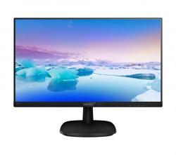 Monitor 23.8 243V7QSB IPS DVI Czarny