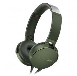 MDR-XB550APG zielone, mikrofon
