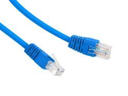 Patch cord Kat.6 UTP 0.5m niebieski