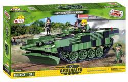 Cobi Klocki Armia Stridsvagn 103C Szwedzki czołg podstawowy