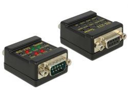 Delock Tester RS-232 DB9 - DB9 F-M