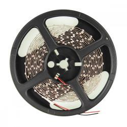 Whitenergy Taśma LED 5m 60szt./m SMD3528 4.8W/m 12V wew. 8mm ciepła biała bez konektora