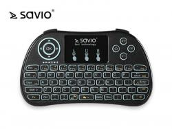 Klawiatura bezprzewodowa Android TV Box, Smart TV, PS3, XBOX360, PC SAVIO KW-01