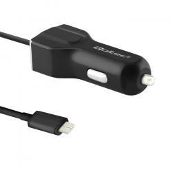 Ładowarka samochodowa | 12-24V | 5V/3.4A | USB + USB typC