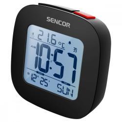 Sencor SDC 1200 B Budzik z termometrem, zegar sterowany radiem