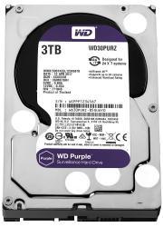 HDD Purple 3TB 3,5'' 64MB SATAIII/5400rpm