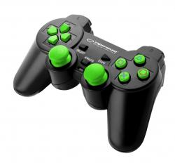 GAMEPAD PS3/PS3/PC USB CORSAIR CZARNO/ZIELONY