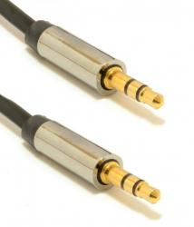 Kabel stereo mini Jack 3.5mm M/M 1m
