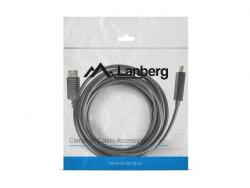 Kabel DisplayPort - HDMI M/M 5M czarny