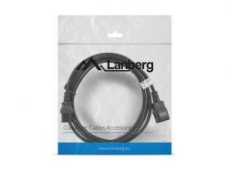 Przedłużacz kabla zasilającego IEC 320 C13 - C14 VDE 3M czarny