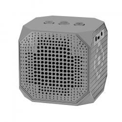 Głośnik Bluetooth przenośny | 3W | Double Speaker | Szary