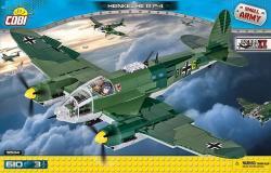 Cobi Klocki Klocik Small Army 610 elementów Heinkel He 111 P-4 Niemiecki bombowiec