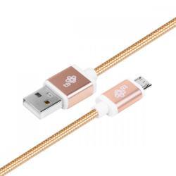 Kabel USB-Micro USB 1.5 m złoty sznurek