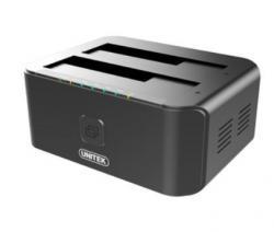 Stacja dokująca USB 3.0-SATA III; CLONE; DUAL HDD/SSD; Y-3032