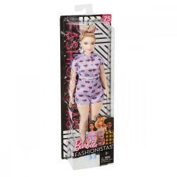 Mattel BARBIE Fashionistas Lavenda Kiss