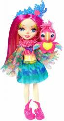 Mattel Lalka Enchantimals Peeki Parrot