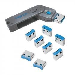 Blokada portów USBx8 z kluczem