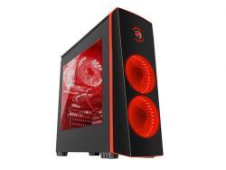 Obudowa Genesis Titan 700 USB 3.0 z oknem czerwone podświetlenie