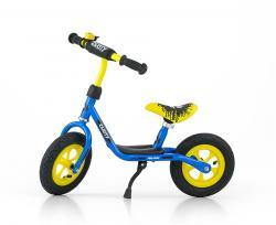 Milly Mally Rower biegowy Dusty 10'' niebiesko-żółty