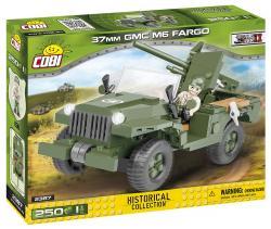 Cobi Klocki Klocki 37 mm GMC M6 Fargo-kołowy niszczyciel