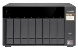 TS-873-4G 8x0HDD 4GB 4x3.4Ghz 4xGbE 2xM.2 4xUSB