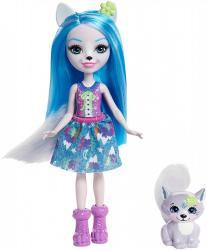 Mattel Lalka Enchantimals Winsley + Wilk