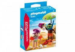 Playmobil Dzieci z zamkiem z piasku 9085