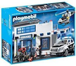 Playmobil Zestw figurek Posterunek policji 9372