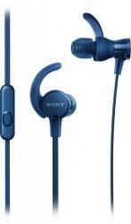 Słuchawki douszne MDR-XB510ASL, niebieskie